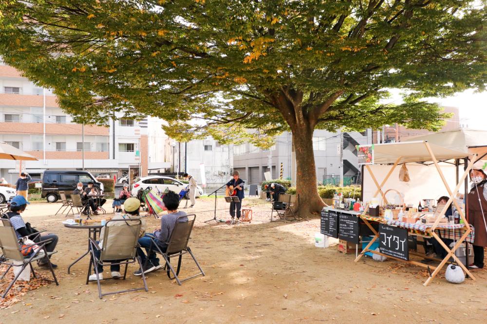屋外を日常に!<br/>〈Park+@大工町公園〉<br/>11/22(日)に開催します!!<br/>