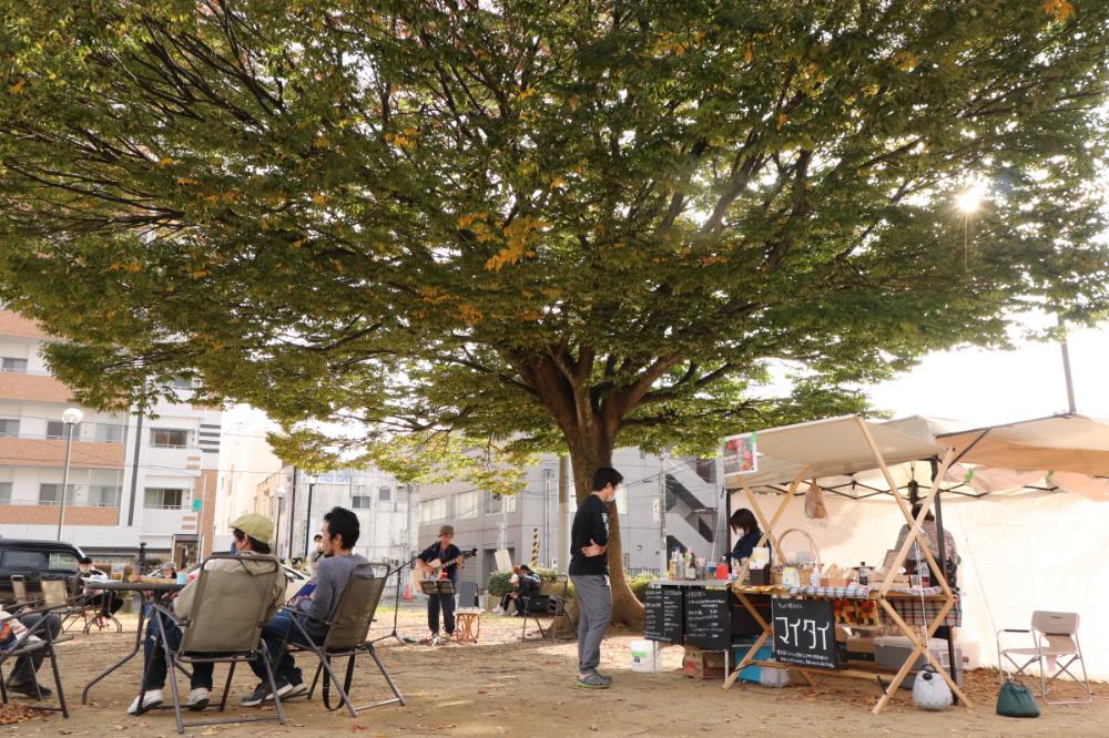 2/28(日)に開催!!<br/>〈Park+@大工町公園〉<br/>屋外を日常にしよう!